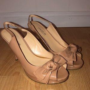 preview international pink nude heels